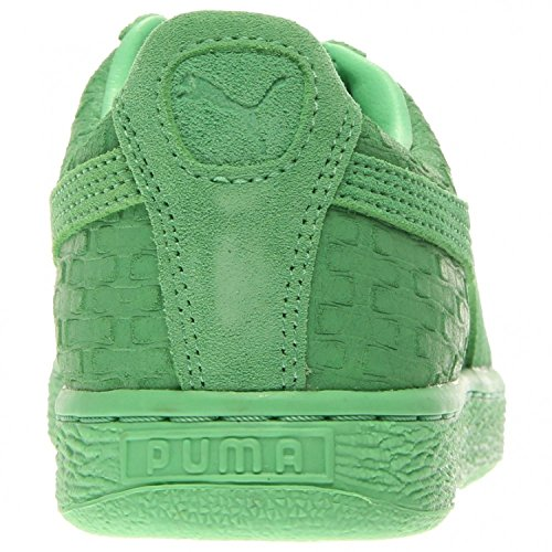 PUMA Women's Suede Classic – Solange Collection Patina Green Geo Sneaker 10.5 B (M)
