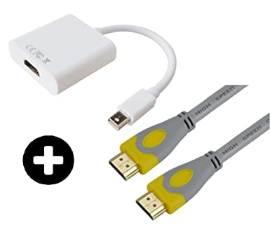 70/'/' High Speed Mini DisplayPort DP to HDMI Cable Cord Adapter Male For PC TV