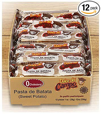 Sweet Potato Candy (Dulce de Batata) Chewy and Delicious candy made in Puerto Rico