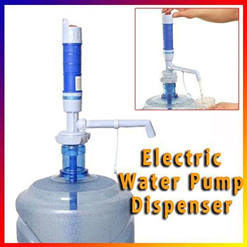 PrimeTrendz TM Powerful Electric Pump Dispenser Press Switch for 5Gallon Bottled Drinking Water