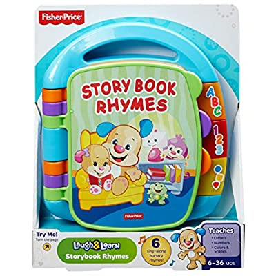 Fisher-Price Laugh & Learn Storybook Rhymes Book [Colors May Vary]: Toys & Games