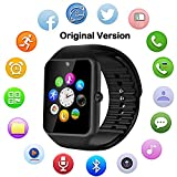 Bluetooth Smart Watch GT08 for Android/iPhone Smart Phones (Original Version) (Black)