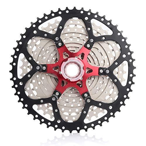 Road Fahrrad SRAM BMX Q/&BDiffer 12 Speed Kassette 11-50T Hochfestem Stahl Silber Schwarz MTB Shimano Unterst/ütztes Mountain Bike
