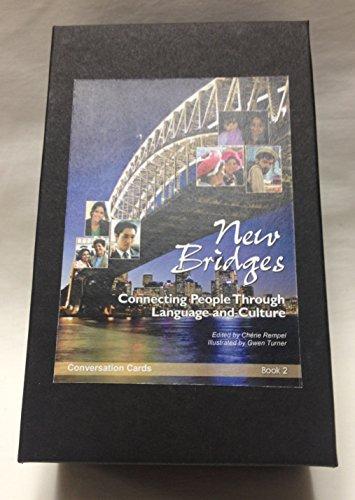 New Bridges Book 2 Conversation Cards, edited by Cherie Rempel (beginner/intermediate ESL / EFL course resource)