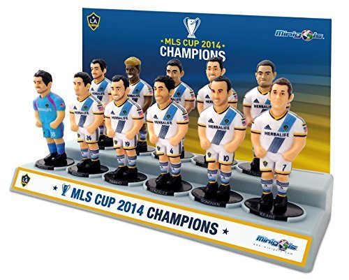 Minigols Los Angeles Galaxy Championship Kit (11 Pack)