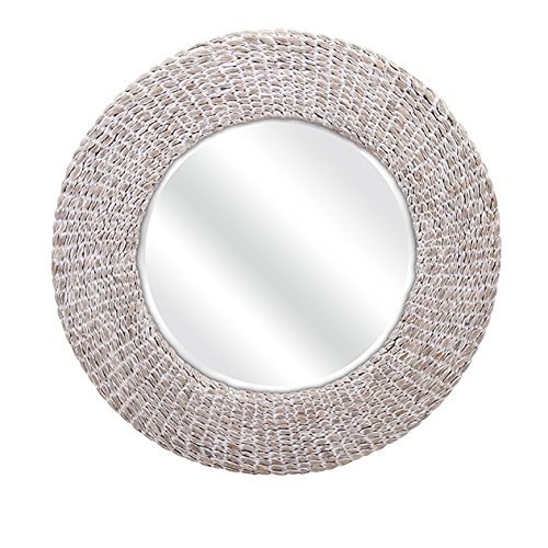 IMAX 11669 Madiera Water Hyacinth Wall Mirror