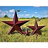 Barn Star - Metal Stars for Outside Texas Stars Art