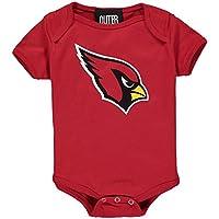 Arizona Cardinals Baby Team Logo Bodysuit - Red (0-3 Months)