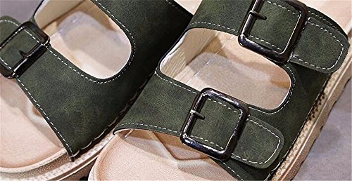 de a verano de Señoras moda FLYRCX zapatillas 4wFBqF