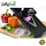 GalleyFresh Kitchenware Professional V-Slicer, Mandoline Slicer, Food Chopper, Fruit & Vegetable Cutter, 7 Piece Set