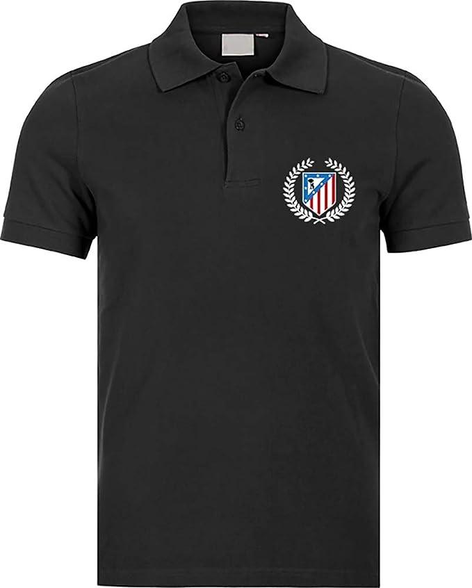 Polo Polo Atlético de Madrid Corona Camisetas del Atleti ...