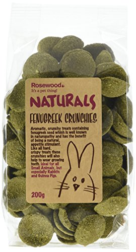 Picture of Rosewood Pet 1 Pouch Fenugreek Crunchies Food For Small Animals, 200G