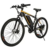 Best Electric Bikes - ANCHEER Electric Mountain Bike 27.5'' /26'' Electric Bicycle Review