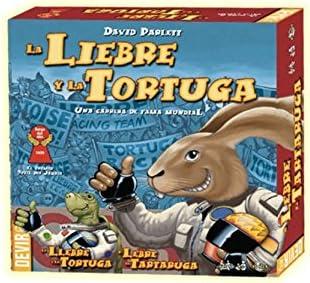 Devir - La Liebre y la Tortuga: Amazon.es: Juguetes y juegos