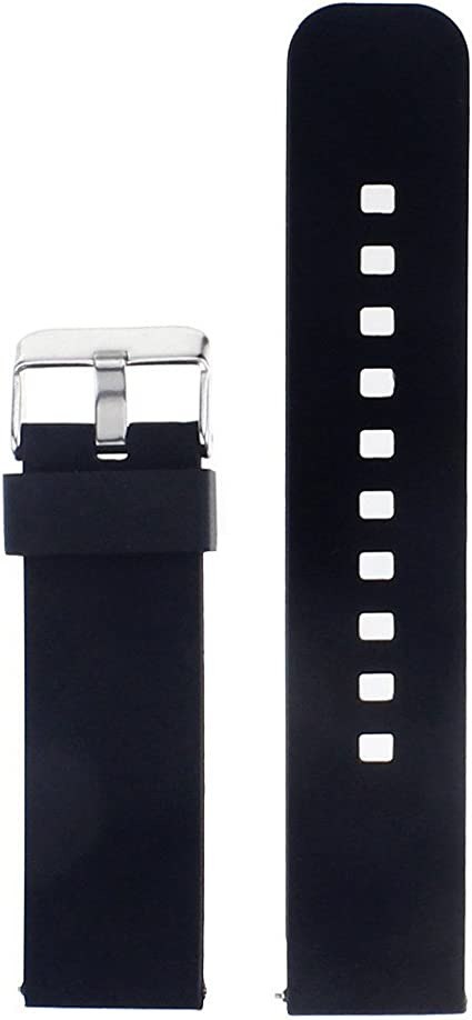 Pebble Time Watch Band,AWINNER Strap for Pebble Time Smartwatch Band Replacement Accessories with Metal Clasps Watch Strap/Wristband Siliconed Replace ...