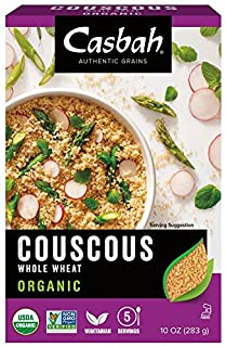 Casbah Couscous, Organic Whole Wheat, 10 Ounce (Pack of 12) (B000F0JORA) | Amazon price tracker / tracking, Amazon price history charts, Amazon price watches, Amazon price drop alerts