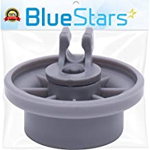 Ultra Durable 165314 Dishwasher Lower Rack Wheel replacement by Blue Stars - Exact Fit for Bosch & Kenmore Dishwasher - Replaces 00420198 420198