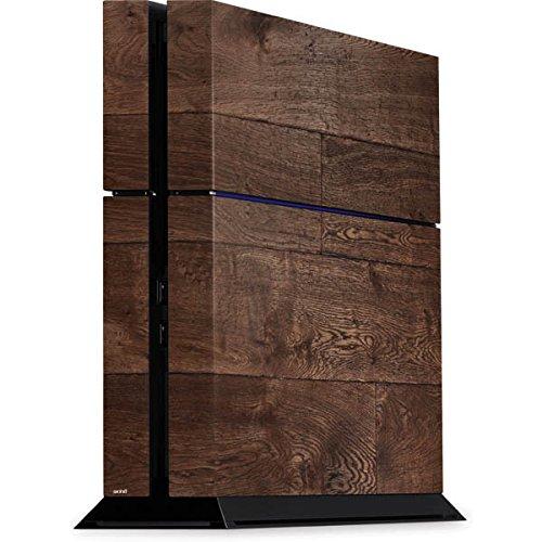 Wood PS4 Console Skin - Dark Wood Panels