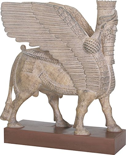 Summit Collection Assyrian Winged Bull Statue Ancient Iraq 8.5H
