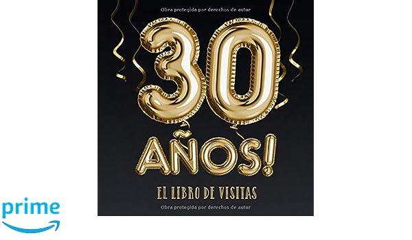 30 años - El libro de visitas: Decoración para el 30 ...