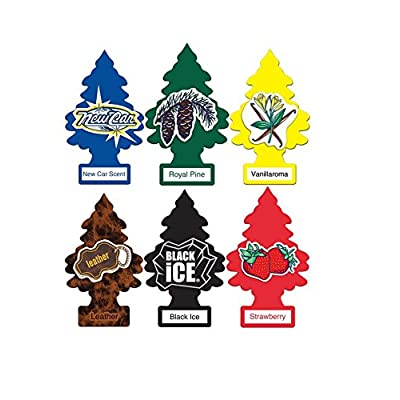 Little Trees Air Fresheners Classic Original Scents 6 Pack (classic6): Automotive