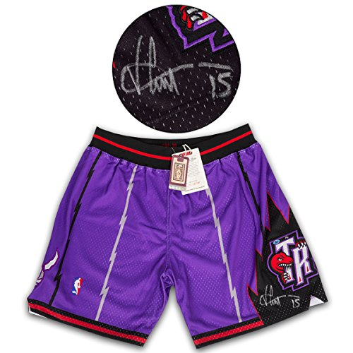 Used, Vince Carter Toronto Raptors Signed Mitchell & Ness for sale  Delivered anywhere in Canada