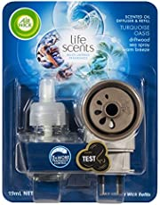 Air Wick Life Scents Electric Plug In Diffuser Turquoise Oasis, 19ml