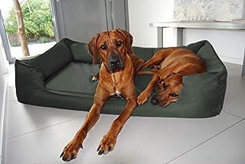tierlando® G6 - 26 cama almohada ortopédica para perros Goofy visco Espuma Viscoelástica festes poliéster 600d Perros sofá perro cesta Talla XXL 150 cm ...