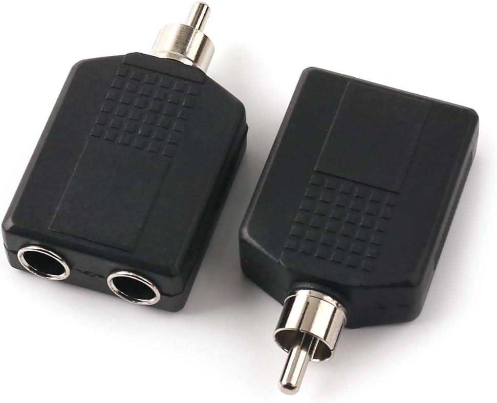 RS Pro Adaptateur Femelle 1//4 Stéréo//Mâle 1//4 Stéréo