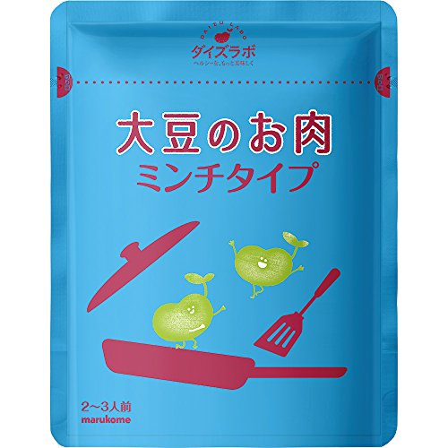 Marukome 40 commercial soy meat mince type 200g X by Marukome