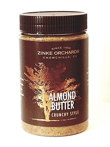(Zinke Orchards Crunchy Almond Butter (3 Pack) 16oz Jars)