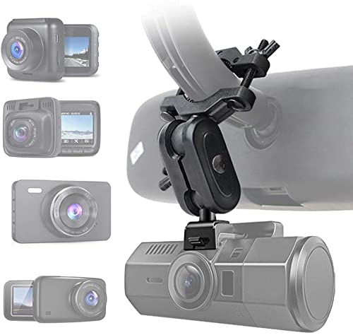 Dash Cam Mirror Mount, Fit for 99 Dash Cam DVR, for YI 2.7 , YI Nightscape, Rexing V1, AUKEY, UGSHD, Z-Edge, Old Shark, KDLINKS X1, Crosstour and Most Other Dash Camera