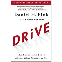 Drive: The Surprising Truth About What Motivates Us: Written by Daniel H. Pink, 2010 Edition, (1st first) Publisher: Riverhead Hardcover [Hardcover]