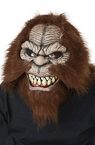 California Costumes Men's ANI-Motion MASK, Squatchin, One Size ()