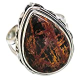 Ana Silver Co Butterfly Jasper 925 Sterling Silver Ring Size 7 RING847171