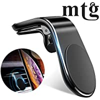 MTG High Quality Universal Magnetic Phone Holder For Car Air Vent Cradle Compatible for iPhone 11 SE Xs X XR 6S 7 Plus 8 5S 6, Samsung Galaxy S9 S7 Edge S8 S6, Google Pixel 2 XL, LG G6 android Smartphone