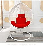 #2: A general swing seat cushion thick nest hanging chair back-A