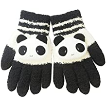 Women Winter Warm Knit Gloves Capacitive Touch Screen Wrist Gloves Mittens