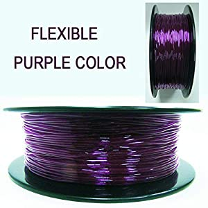 Tonglingusl tpu 3d filament flexible soft 3d printing material filament flex 1.75mm printer modeling (color : 100g white, size : free)