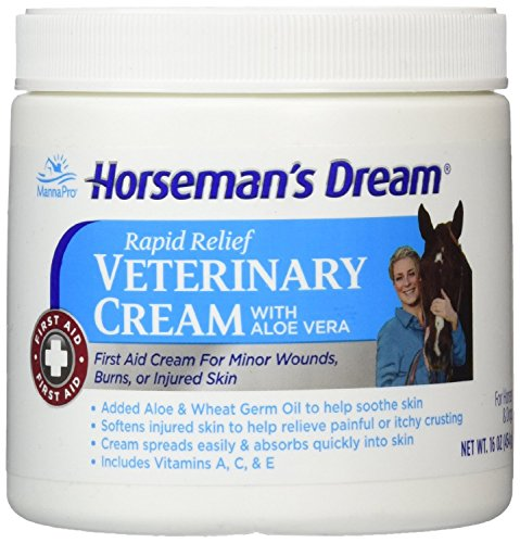 Corona Horseman's Dream Vet Cream Jar Horse Minor Wounds Skin Soothe Conditions (Corona Cream compare prices)