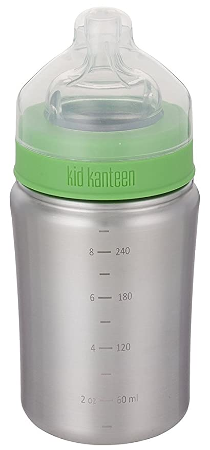Klean Kanteen Tapón, Acero Inoxidable, Brushed Stainless, 7.2x7.2x17.3