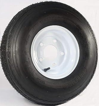 Amazon.com: DEESTONE remolque Tire & 5 Bolt – Rueda para ...