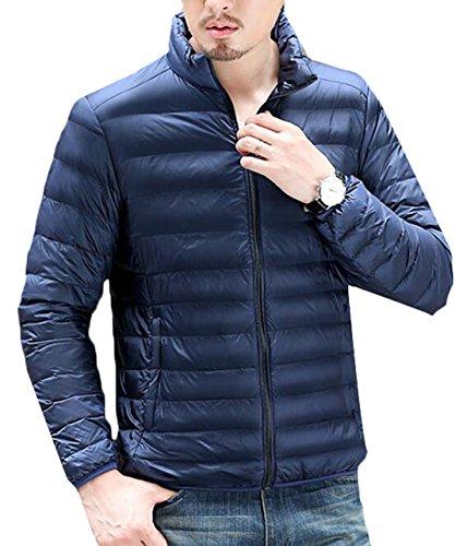 Puffer Blu Degli Xl Packable Navy Ci Luce Cappotto Piumino Sport Outwear Uomini Eku aRtZwS