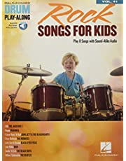 Rock Songs for Kids: Drum Play-Along Volume 41