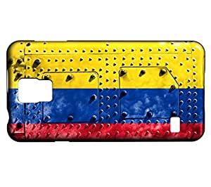 Funda Carcasa para Galaxy S5 Mini Bandera COLOMBIA 06