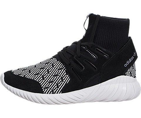 Adidas-Mens-Tubular-Doom-CblackCblackVinwht-Running-Shoe-9-Men-US