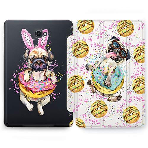 Wonder Wild Donuts Pug Samsung Galaxy Tab S4