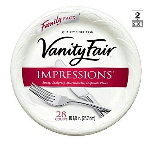 Vanity Fair Impressions Disposable Heavyweight