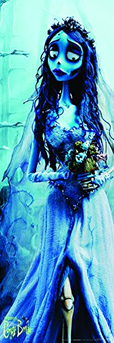 Corpse Bride Emily Cult Classic Animated Fantasy Childrens Movie Film Poster Print 12 by 36]()