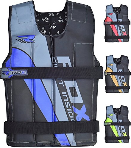 RDX Adjustable Weighted Vest Crossfit Fitness 14KG 18KG Weight Jacket Training Workout Excercise